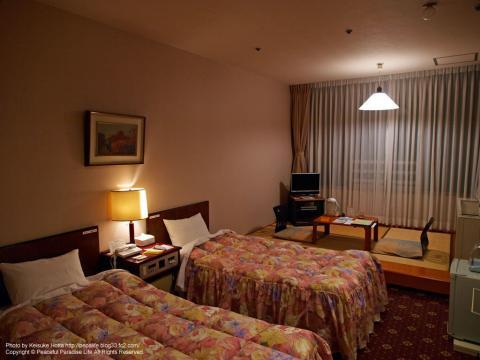 今回宿泊したホテルの部屋