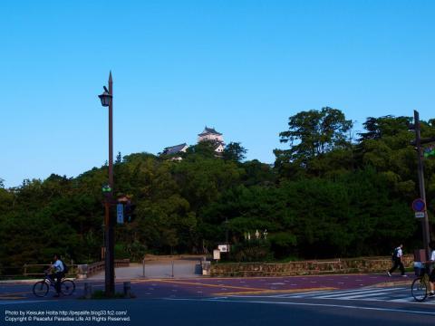 高知城の入り口