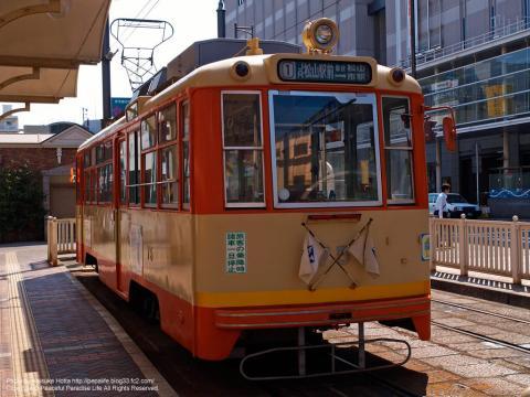 松山の路面電車