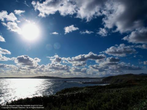 礼文島の朝陽