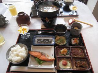 軽井沢カーロフォレスタ 人間の朝食