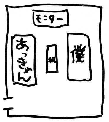 秋山ルーム。
