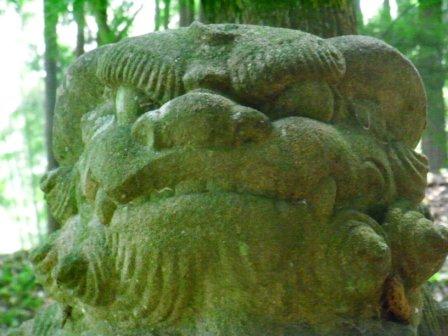 日吉神社湯原4