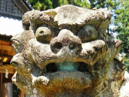 亀都起神社玖珠2