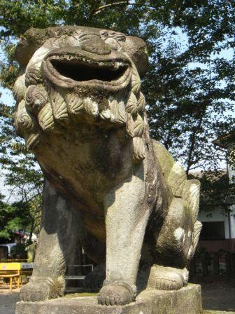 窪田日吉神社1