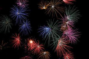 Showa kinen park Fireworks_14
