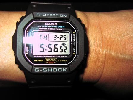 G-ショック DW-5600E IMG_7434
