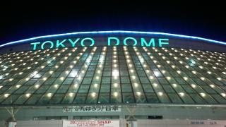 東京ドーム(夜)