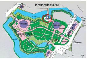 ed.北の丸公園案内図