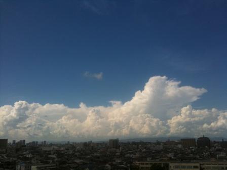 東大阪の空