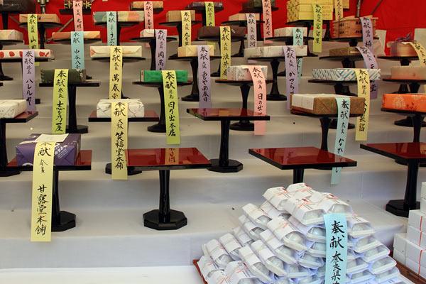 林神社 饅頭祭4