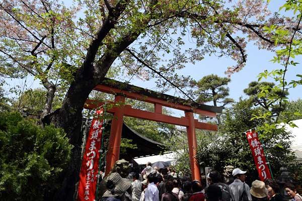 林神社 饅頭祭1