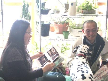 マメちゃんのパパとママ&エル
