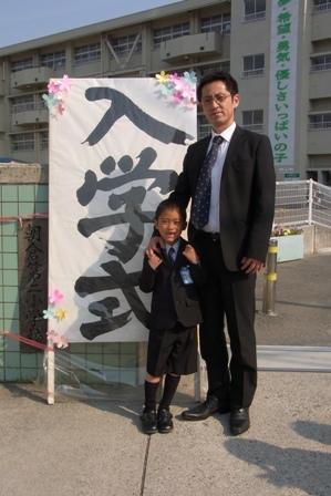 120409 入学式。
