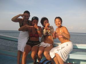 体験ダイビング ボートダイブ
