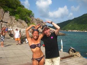 ナンユアン島 体験ダイビング ビーチ