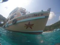 アジアダイバーズ ダイビングボート 外観