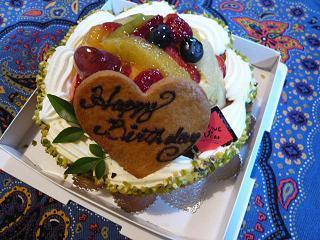 46歳のケーキ