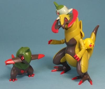 キバゴ 進化