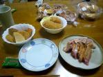 いつの日かの晩飯