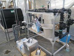 [写真]ポレポレ農園の液肥混入機