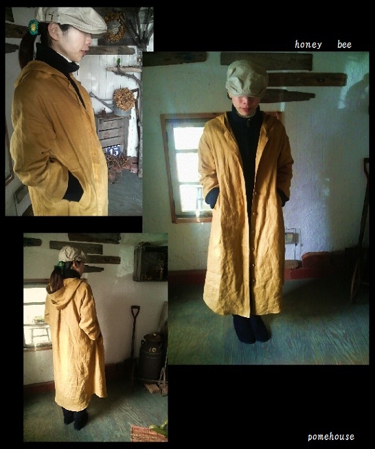 honey bee coat