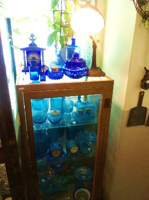 青いクリスタル