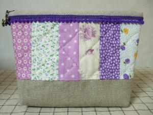 012ポーチ紫