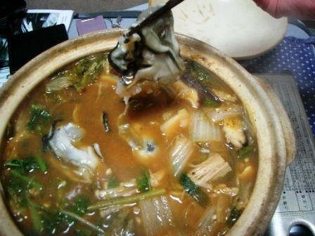 220131かき鍋