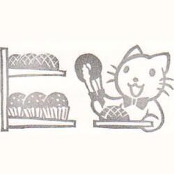 パン屋さんにて・お買い物