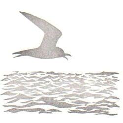 海のセット・波アジサシ