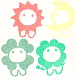 桜子・陽子月子四葉子色見本