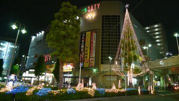 北小金クリスマス・イルミネーション!