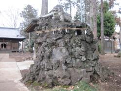 大井氷川神社阿