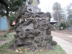 大井氷川神社吽