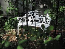 庭のフォーカルポイント
