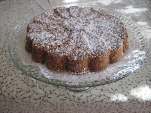 マグリット型のケーキ