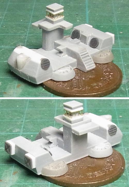 バッファロー船体完成