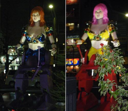 女性型ロボット