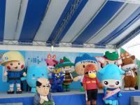 剱岳雪のフェスティバル