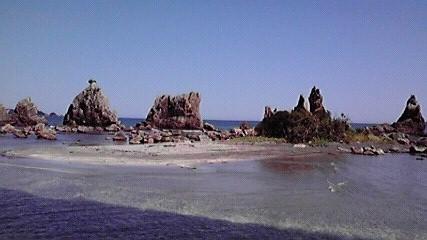 和歌山橋杭岩