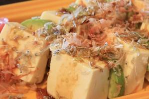 アボカドじゃこ豆腐サラダ2