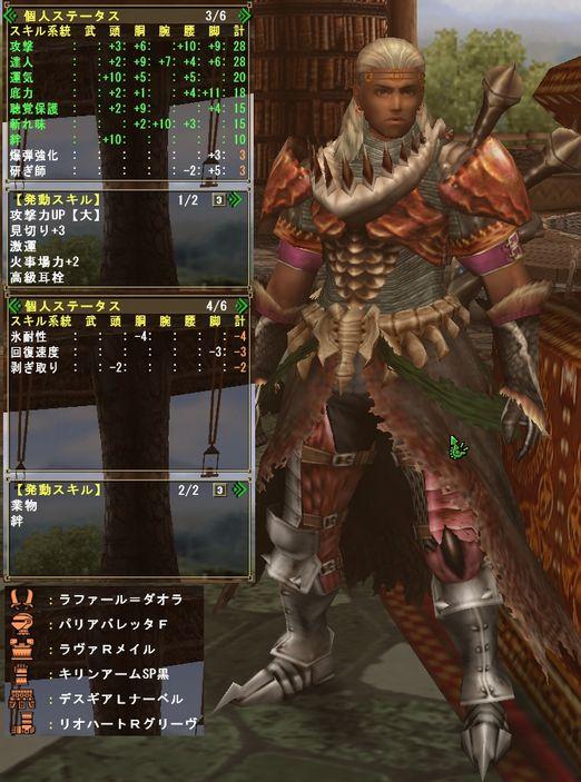 激運剣士装備