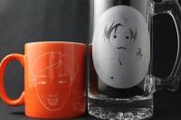 卒業記念品 似顔絵ジョッキ&マグカップ
