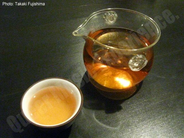 本日のお茶1