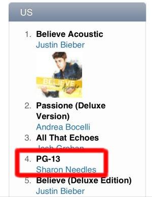 iTunes Store Pop Chart のスクリーン・ショット
