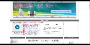 極限活用~DS Wii~