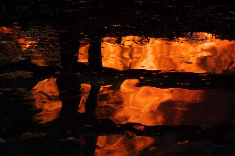 小国神社のどんど焼き 3