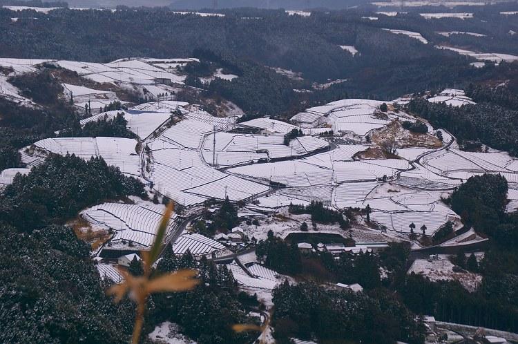 粟ヶ岳雪景色 1