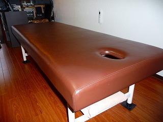穴開きベッド